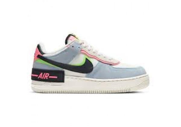 Nike Air Force 1 серо-голубой