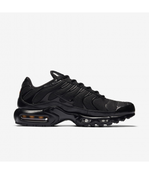 Кроссовки Nike Air Max Plus моно черные