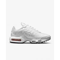 Кроссовки Nike Air Max Plus моно белые