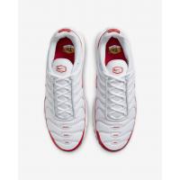 Кроссовки Nike Air Max Plus белые с красным