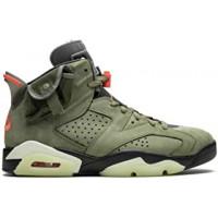 Nike кроссовки Air Jordan 6 хаки