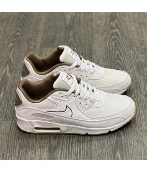 Nike кроссовки Air Max 90 бежевые