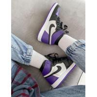 Nike кроссовки Air Jordan 1 Retro High Purple