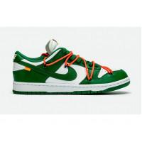 Кроссовки Nike Off-White x Dunk Low «Pine Green»