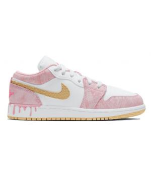 Nike Air Jordan 1 розовые