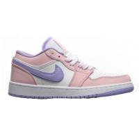 Кроссовки Nike Air Jordan 1 фиолетово-розовые