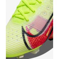 Кроссовки Nike Mercurial Vapor 14 Elite FG салатовые