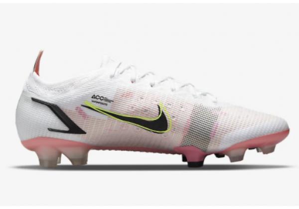 Кроссовки Nike Mercurial Vapor 14 Elite FG белые с розовым