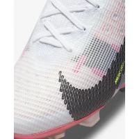 Кроссовки Nike Mercurial Superfly 8 Elite FG белые с розовым
