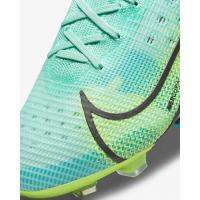 Кроссовки Nike Mercurial Superfly 8 Elite FG голубые