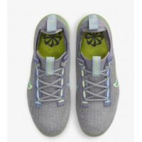 Кроссовки Nike Air Vapormax 2021 FK серые с салатовым