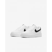 Nike кроссовки Air Force 1 с черным свушем белые