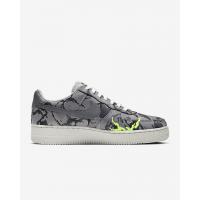 Nike кроссовки Air Force 1 07 LX с принтом серые