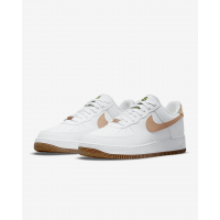 Nike кроссовки Air Force 1 07 LV8 белые с бежевым