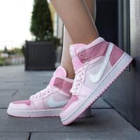Nike кроссовки Air Jordan 1 Retro Pink