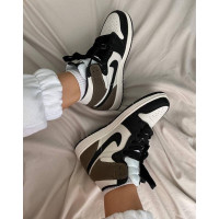 Nike Air Jordan 1 Mid grey black
