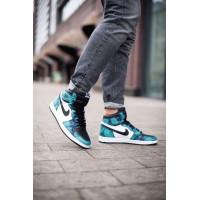 Кроссовки Air Jordan 1 Retro Tie Dye мульти