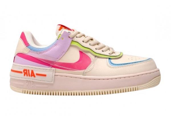 Кроссовки Nike Air Force 1 Shadow разноцветные