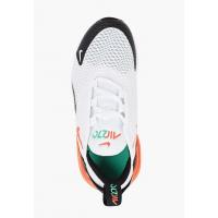 Кроссовки Air Max 270 (PS) белые с оранжевым