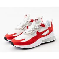 Кроссовки Nike Air Max 270 React белые с красным