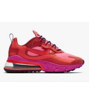 Кроссовки Nike Air Max 270 React красные