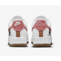 Кроссовки Nike Air Force 1 '07 SE белые с розовым