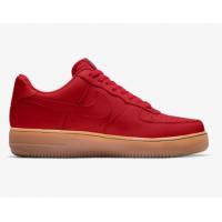 Кроссовки Nike Air Force 1 Low By You красные
