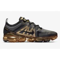 Кроссовки Nike Air Vapormax 2019 черные с золотистым