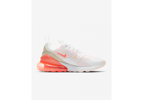 Nike кроссовки Air Max 270 персиковые