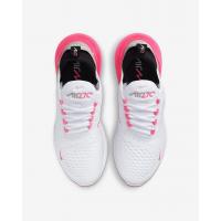 Nike кроссовки Air Max 270 белые с розовым