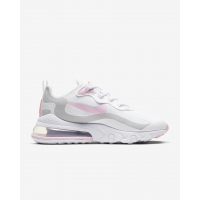 Nike кроссовки Air Max 270 React белые с розовым