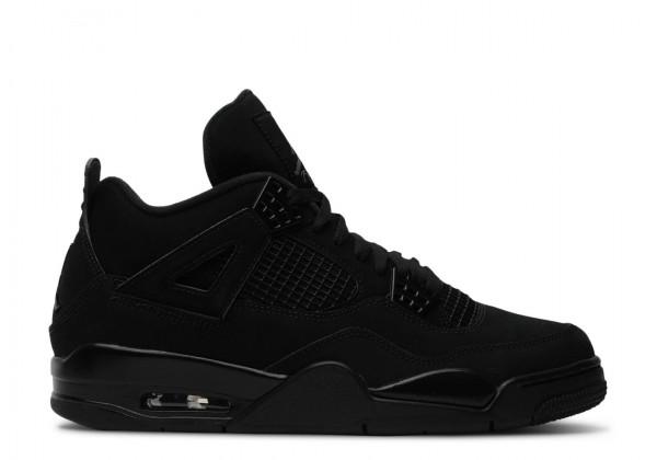 Кроссовки Air Jordan 1 Retro 'Black Cat' черные