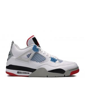 Кроссовки Air Jordan 1 'What The' белые