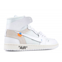 Кроссовки Air Jordan 1 'The 10 Ten Part II' белые