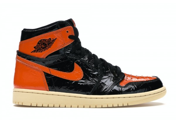 Кроссовки Air Jordan 1 Retro High OG оранжевые