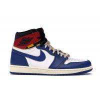 Кроссовки Air Jordan 1 Retro High Union Los Angeles синие