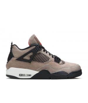 Кроссовки Air Jordan 1 Retro Taupe Haze темно-розовые