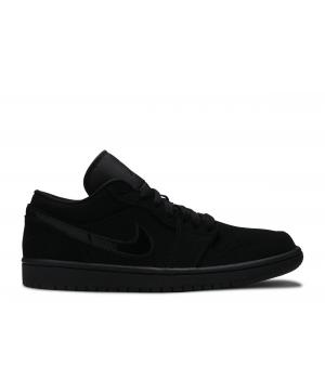 Кроссовки Air Jordan 1 Low черные