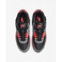 Nike Air Max 90 черные с розовым