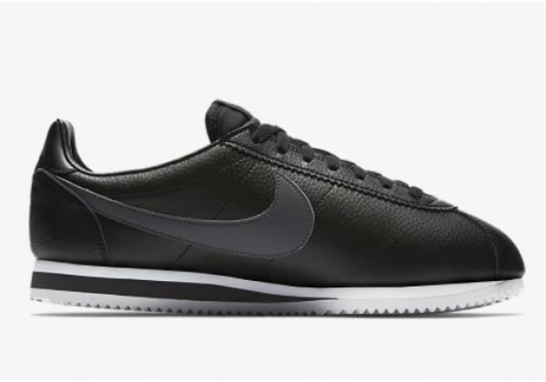 Кроссовки Nike Classic Cortez черные моно