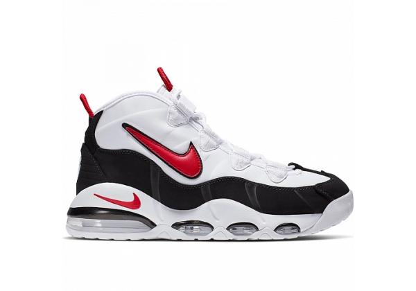 Кроссовки Nike Air More Uptempo '95 черно-белые