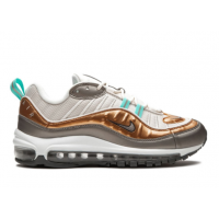 Кроссовки Nike Air Max 98 серые с белым