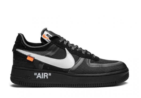 Nike Air Force 1 Low x Off White черные
