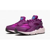 Кроссовки Air Huarache RUN  фиолетовые