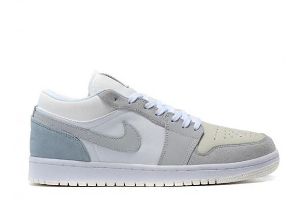 """Nike кроссовки Air Jordan 1 (Jordan Air) Low """"Paris"""" серые"""