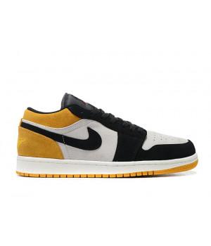 "Nike Air Jordan 1 Low ""University Gold"" желтые"
