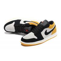 "Nike кроссовки Air Jordan 1 Low ""University Gold"" желтые"