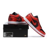 """Nike Air Jordan 1 Low """"Varsity Red"""" красные"""