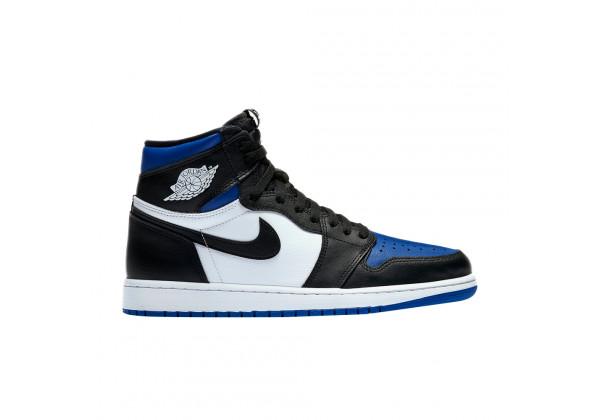 Nike Air Jordan 1 Mid черно-синие