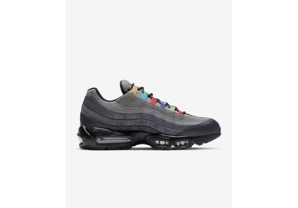 Кроссовки Air Max Nike 95 EOI черные